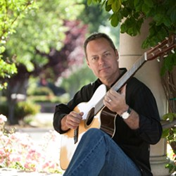 FINGER-STYLE PHENOMENON :  Amazing finger-style guitarist Martin Paris headlines Steve Key's Songwriters at Play showcase on July 24 at Sculpterra Winery. - PHOTO BY DENNIS SWANSON