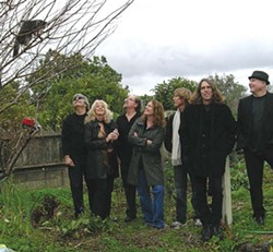 GREENIES :  The Richard Green Band performs on Sept. 12 at the Steynberg Gallery, which they'll be filming for an upcoming music video. - PHOTO COURTESY OF THE RICHARD GREEN BAND