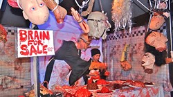 """BRAINS FOR SALE!:  The SLO Elks Lodge hosts a free Haunted House and Halloween Carnival on Oct. 30 and 31. - PHOTO BY BETTY """"DOC"""" O'CONNOR"""