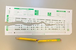 NO MORE SCANTRONS:  The way California teaches and tests children is changing, but as the lead-filled bubbles fade into history, will some students have a harder time adjusting than others? - PHOTO BY KAORI FUNAHASHI