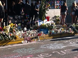 IN MOURNING:  Members of the UC Santa Barbara and Isla Vista communities held numerous events to mourn the deaths of six UCSB students killed on May 23. Classes were canceled on May 27. - PHOTO BY CHLOE RUCKER