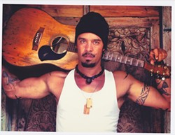 FRANTI UNPLUGGED!:  Michael Franti of Spearhead plays Fremont Theater in an intimate acoustic concert on Nov. 8. - PHOTO COURTESY OF MICHAEL FRANTI