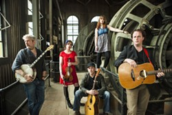 IRISH DISH:  Solas plays Cal Poly's Spanos Theatre on April 4. - PHOTO COURTESY OF SOLAS