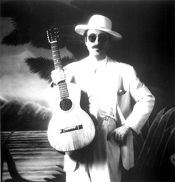 TRUE ORIGINAL :  As if left from some alternative past, Leon Redbone continues to march to the beat of his own syncopated drummer. See him on April 29 at the Clark Center. - PHOTO BY NANCY DEPRA