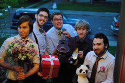 HOW DO YOU LIKE THEM APPLES? :  Hot jazz awaits on July 6 at the Red Barn Community Music Series when Sacramento-based act The World's Finest Apples plays. - PHOTO COURTESY OF THE WORLD'S FINEST APPLES