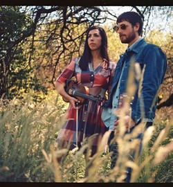 SOPHISTICATED YET EARTHY :  Ian McFeron and Alisa Milner blend folk, rock, alt-country, and blues for Pint Night at Frog and Peach in SLO on Dec. 14. - PHOTO COURTESY OF IAN MCFERON