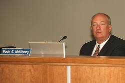 ONE FOR THE MONEY :  Wade McKinney—Atascadero city manager since August 1997—scored a similar position in Indian Wells, along with a significant pay bump. - FILE PHOTO