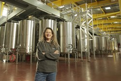 NINER TO 11 :  Amanda Cramer is winemaker for Niner Wine Estates, which farms 11 grape varieties at Bootjack Ranch. The winery and hospitality center is at Heart Hill Vineyard on Paso Robles Westside. - PHOTO BY STEVE E. MILLER