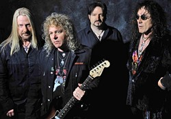 STILL ROCKING!:  '70s and '80s heavy metal icons Y&T plays SLO Brew on Jan. 30. - PHOTO COURTESY OF Y&T
