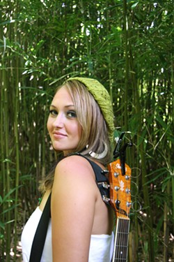 HAWAIIAN HONEY :  Hawaiian-born beauty Anuhea and the Green play Downtown Brew on July 28, filling the club with acoustic soul, pop, and reggae. - PHOTO COURTESY OF ANUHEA AND THE GREEN
