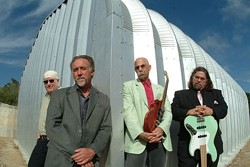 SMOKING BLUES:  On July 6, The Cinders Blues Band plays Ramona Garden Park for the third concert of the Grover Beach Sizzlin' Summer Concert Series. - PHOTO COURTESY OF THE CINDERS BLUES BAND