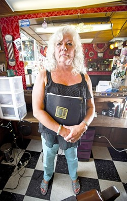 PERFECT STORM OF CRAP:  For Diane Gillett, a slumping economy and dual knee surgeries led to a long sequence of battles with her creditors that ultimately resulted in a lawsuit brought against her. - PHOTO BY HENRY BRUINGTON