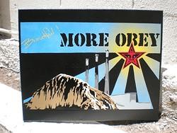 MORE OBEY : - IMAGE BY DAN WOEHRLE