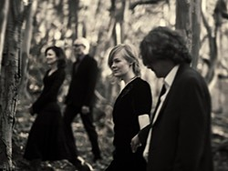 MYSTERIOUS AND HAUNTING! :  Check out the amazing sounds of Shadowlands, on April 19 at Steynberg Gallery. - PHOTO BY BARRY GOYETTE