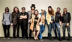 DO THE HIPPIE SHAKE:  Kick-ass funk act Captain Nasty headlines the 25th Annual Earth Day Fair & Music Festival on April 19 at El Chorro Regional Park. - PHOTO COURTESY OF CAPTAIN NASTY