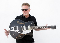 ROCKER!:  Multi-platinum-selling, Grammy Award-winning producer-guitarist Pete Anderson is coming to the Pour House on Dec. 9. - PHOTO COURTESY OF PETE ANDERSON