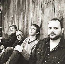 THE BOYS ARE BACK IN TOWN :  Nineties favs Toad the Wet Sprocket have reunited and play SLO Brew on Aug. 17. - PHOTO COURTESY OF TOAD THE WET SPROCKET