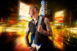 HO HO HO SLO :  Brewing Co. presents rock guitarist Gary Hoey's special Christmas show on Dec. 9. - PHOTO BY MAX CRACE