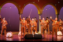 OLAY! :  Experience the rich culture and traditions of Mexico when Mariachi Los Camperos de Nati Cano appears in the Performing Arts Center's Cohan Center on Nov. 26. - PHOTO COURTESY OF MARIACHI LOS CAMPEROS DE NATI CANO