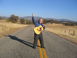 HEARTFELT TUNES:   Local singer/songwriter/guitarist James Paul Dyer and the Streets of California Band perform songs from their new CD Dec. 27 and Jan. 3 at Last Stage West. - PHOTO BY KATHY JOHNSTON