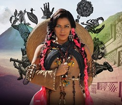 AY, CARUMBA!:  Lila Downs brings her Mexican-American sounds to the SLO PAC on April 14. - PHOTO COURTESY OF LILA DOWNS