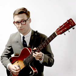 OLD SCHOOL COOL :  Nick Waterhouse, a 25-year-old R&B artist with a timeless sound, plays March 14 at SLO Brew. - PHOTO COURTESY OF NICK WATERHOUSE