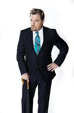COMEDY KING:  Cal Poly Arts presents the center stage engagement of Eddie Izzard's hilarious Force Majeure, his most extensive comedy tour ever. Launched in March of 2013, the tour will take Izzard to 25 countries on five continents. - PHOTO COURTESY OF EDDIE IZZARD