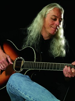 STRING KING :  Grammy Award-winning guitarist Ed Gerhard returns to Coalesce on July 28. - PHOTO COURTESY OF ED GERHARD