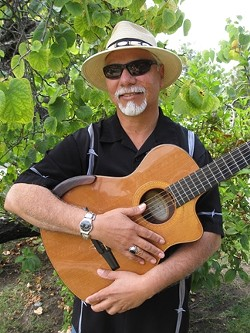 GRAMMY WINNER! :  Local singer-songwriter and Grammy-winner Louie Ortega opens a three-act fundraising concert at the Cambria Pines Lodge on Feb. 9. - PHOTO COURTESY OF LOUIE ORTEGA