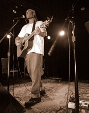 HUNK O' BERNING LOVE :  Dan Bern plays Aug. 19 at the Steynberg Gallery. - PHOTO COURTESY OF DAN BERN