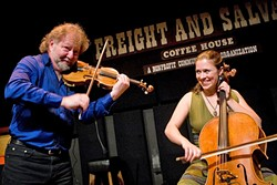 STRINGS:  On Dec. 1, enjoy an evening with fiddler Alasdair Fraser & cellist Natalie Haas in a benefit concert for Templeton Schools Fine Arts Programs at the Templeton High School. - PHOTO COURTESY OF ALASDAIR FRASER & NATALIE HAAS