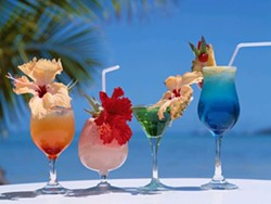 SPLISH SPLASH :  The event features bartenders from McLintocks, the Cliffs, Lido, Novo, Fin's, Sea Venture, Rosa's, Mongo's, the Quarterdeck, and Cafe Roma. - PHOTO COURTESY OF WALLPAPER_S.ORG