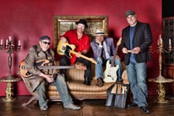 GET SAUCED!:  Soul Sauce plays Castoro Cellars for the Harvest Festival Weekend this Oct. 18 and 19. Drive safe! - PHOTO COURTESY OF SOUL SAUCE