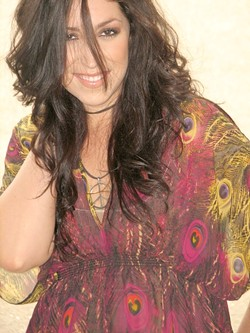 BRASSY! :  Incredible country singer Amy Estrada plays an acoustic show at Hearthstone Winery on April 8. - PHOTO COURTESY OF AMY ESTRADA