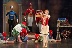 S.O.T. (SAVE OUR TOYS):  Coastal Chamber Youth's Ballet's performance of Babes in Toyland tells the story of sibling duo Tom and Mary, who must fight to save toys and holidays from the evil villain Barnaby. - PHOTO COURTESEY OF COASTAL CHAMBER YOUTH BALLET
