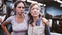 UNION! :  Sally Field is Norma Rae, a Southern textile worker who struggles to overcome deplorable working conditions and unionize her factory, in director Martin Ritt's film of the same name. - PHOTO COURTESY OF SLOJFF