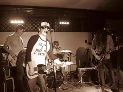 """PUTTING THE """"O"""" IN COUNTRY :  Check out The Dead Volts Oct. 4 at Frog and Peach. - PHOTO BY CHAD NICHOL"""