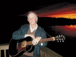 FOLK HERO :  NYC folk legend Jack Hardy plays the Clubhouse on April 21. - PHOTO COURTESY OF JACK HARDY