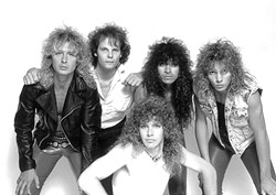 VINTAGE '80S HAIR! :  Members of Loose Lizzy—as well as members of a dozen other popular, local late-'80s and early-'90s bands—will reunite for the daylong event Rock Down Memory Land, June 5 at Sweet Springs Saloon. - PHOTO COURTESY OF LOOSE LIZZY