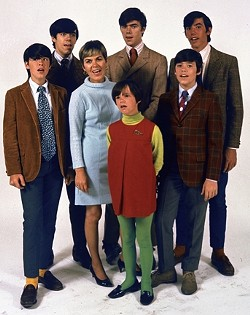 ONE BIG DYSFUNCTIONAL FAMILY :  The real-life inspiration for the Partridge Family, the Cowsills' appearance as a wholesome, happy family band hid many unpleasant secrets, as filmmaker Louise Palanker explores in Family Band: The Cowsills Story. - PHOTO COURTESY OF LOUISE PALANKER