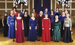 SOLI DEO GLORIA :  The Fresno-based women's group takes its name from the Latin phrase Johann Sebastian Bach inscribed on his compositions.