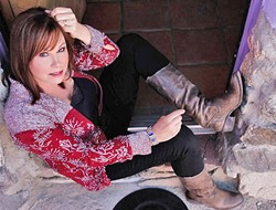 COUNTRY QUEEN:  Legendary country singer Suzy Bogguss plays right before Steve Earle at the Live Oak Music Festival on June 21. - PHOTO COURTESY OF SUZY BOGGUSS
