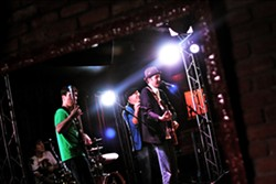 PHOENIX RISING :  Bluesy, folky, hip-hoppy, reggaey act The Wiley One plays Frog and Peach on March 30. - PHOTO COURTESY OF THE WILEY ONE