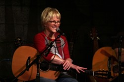 FROM TV TO CHANTEUSE :  She wrote for The Nanny and The Drew Carey Show, but now Tracy Newman is writing great country, western, and folk songs. Hear her April 10 at Linnaea's Café and April 11 at Last Stage West. - PHOTO COURTESY OF TRACY NEWMAN