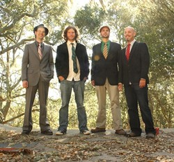 OUTTA THIS WORLD :  One Time Spaceman, whose album was among the top five for last year's New Times Music Awards, is playing Sweet Springs Saloon on Jan. 7. - PHOTO COURTESY OF ONE TIME SPACEMAN