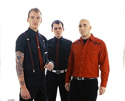 PUNK'S NOT DEAD :  Alternative rock act The Alkaline Trio plays SLO Brew on Nov. 14. - PHOTO COURTESY OF ALKALINE TRIO