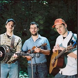 PUNK HEARTS, BLUEGRASS HEADS :  Edgy bluegrass act The Water Tower Bucket Boys plays the Red Barn on July 2. - PHOTO COURTESY OF THE WATER TOWER BUCKET BOYS