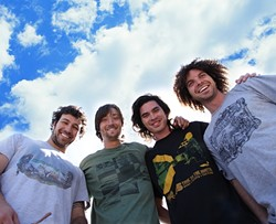 REGGAE NITE:  Stick Figure headlines a three-band reggae show at the Fremont Theater on Jan. 17. - PHOTO COURTESY OF STICK FIGURE