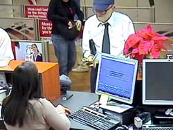 """DIRTY OLD MAN? :  The serial bank robber popularly known as the """"Geezer Bandit"""" struck again on the Central Coast as both local and federal investigators continue to follow up on an interesting lead. - PHOTO COURTESY SLOPD"""
