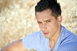 DREAMBOAT!:  Singer, actor, model, and American Idol contestant David Hernandez headlines the Pride in the Plaza event on July 12 in the SLO Mission Plaza. - PHOTO COURTESY OF DAVID HERNANDEZ